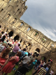 The dramatic Kirkstall Abbey
