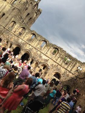 The dramatic Kirkstall Abbey
