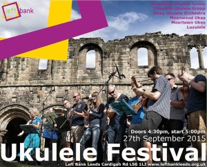 Ukulele festival flyer