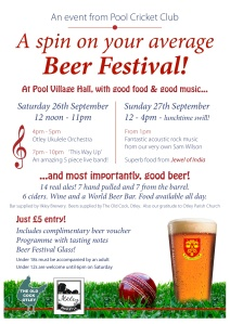 Pool Beer Festival Poster