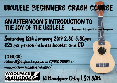 ukulele crash course JANUARY 2019