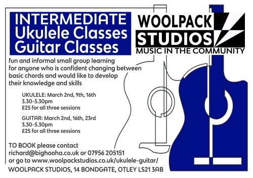ukulele and guitar courses march 2019.