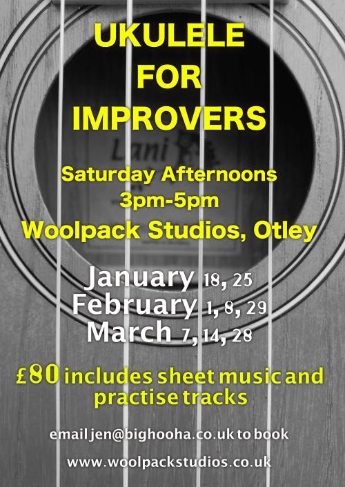 Ukulele For Improvers poster jpeg